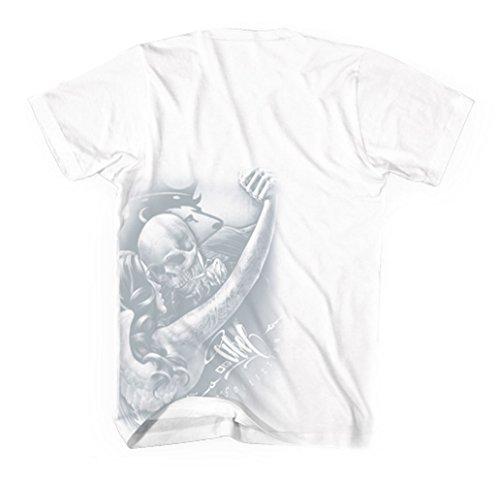 OGABEL Men's Tango SS T Shirt White
