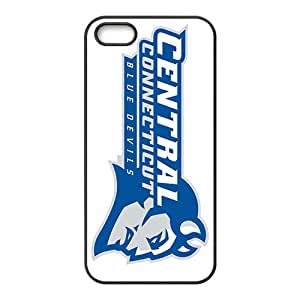 NCAA Ccsu Blue Devils Primary 2012 Black Phone Case for iPhone 5S