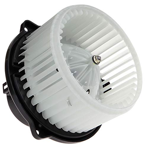 cciyu HVAC Heater Blower Motor with Wheel Fan Cage 5012701AB Air Conditioning AC Blower Motor fit for 1999 2000 2001 Jeep Grand Cherokee
