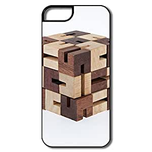 Design Fashionable Wooden Puzzle Brain Teaser Iphone 5/5S Protector