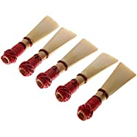 Ocamo 5Pcs New Bassoon Reeds Reed Hardness Medium