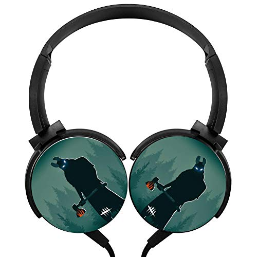 Wired Stereo Headphone Dead by Huntress Day-Light Portable Noise Cancelling Over Ear with Mic Headset Earphone Earpiece