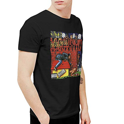 ChaseM Mens Snoop Dogg Doggystyle Tee Black XL (Snoop Dogg Clothing Line Rich & Famous)