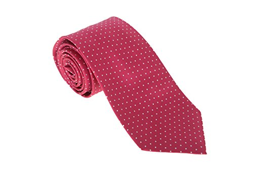 cesare-attolini-napoli-mens-pink-red-polka-dot-handmade-silk-necktie