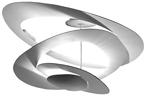 Artemide pirce lampada soffitto halo lampadina esclusa amazon