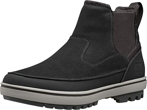 Helly Hansen 11423 Men's Garibaldi V3 Slip-On, Jet Black/New Light Gre - 8