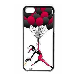 ZK-SXH - harley quinn Custom Case Cover for iPhone 5C,harley quinn DIY Case