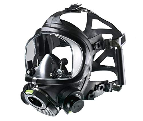 Dräger Panorama Nova Dive Sport Full-Face Diving Mask | Quick Release System | Anti-Fog | Cold Water Resistant | Integrated Relief Valve | Adjustable Pressure Relief System | EN250 Approved
