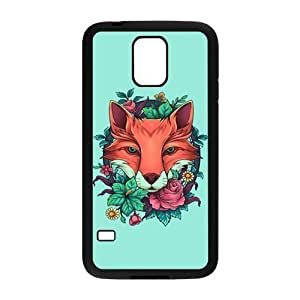 Fox Design Hard Back Protection Cover Case For Samsung Galaxy S5 TPU