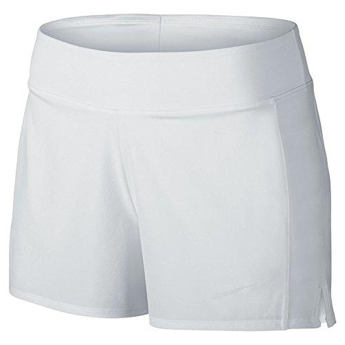 Nike Classic Tennis Mesh (Nike Women's Court Baseline Tennis Short White/White Shorts XS X 3)
