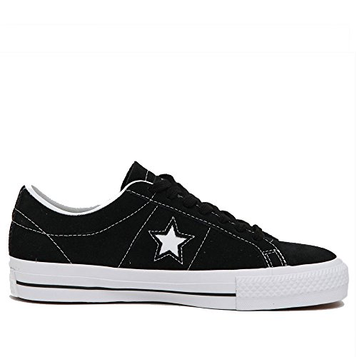 Converse Men One Star Skate Ox (Black)-11.0