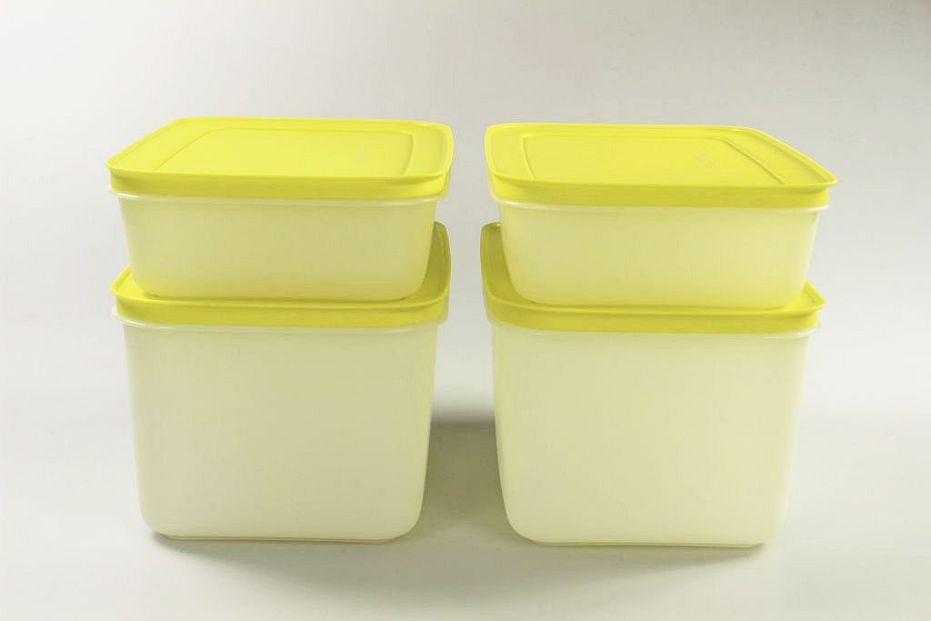 Tupperware Congelador 2,5 l (2) + 1,0 L (2) cal Depósito de hielo ...