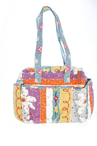 Donna Sharp Posy (Stripe) Ava Bag