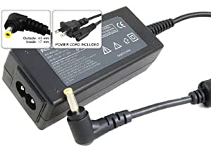 Laptop AC Adapter/Power Supply/Charger+US Power Cord for HP Mini