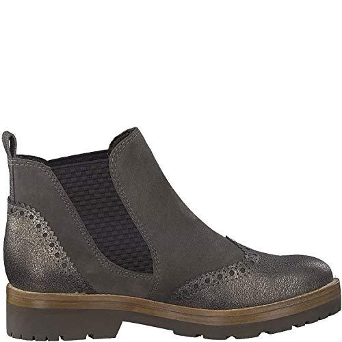 buy popular 71797 4d3b3 Marco Tozzi Womens Premio Chelsea Boot 25451 Pepper Ant. Combo US 9.5