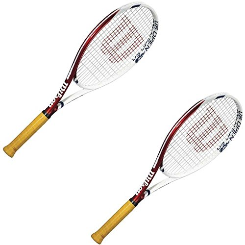 Wilson Junior US Open Tennis Racquet 2 Pack (23-Inch)