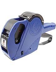 Etiquetadora de precios de alto rendimiento, de 8 dígitos, portátil, El embalaje conveniente (Color : Azul)
