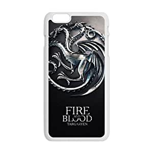Fire Blood Cell Phone Case for iPhone plus 6