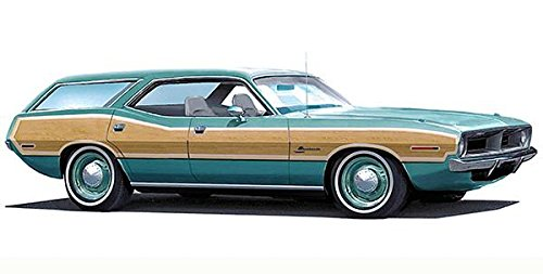 (1970 Plymouth Barracuda Station Wagon Concept Car - Promotional Poster)