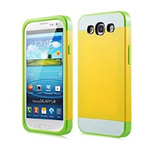 I9300-ZhuangSe-HuangBaiLv - Funda para móvil, amarillo [Importado]