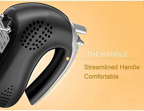 Hand Mixer Haushalts-Desktop mit 5 Geschwindigkeit, 1.7L Große Kapazität, 260W Hochleistung, Optimierter Komfortgriff Handheld und Stand Two Modi