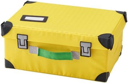 Ikea flytt Bar maletín de juguete en amarillo; (35 x 25 x 15 cm): Amazon.es: Hogar