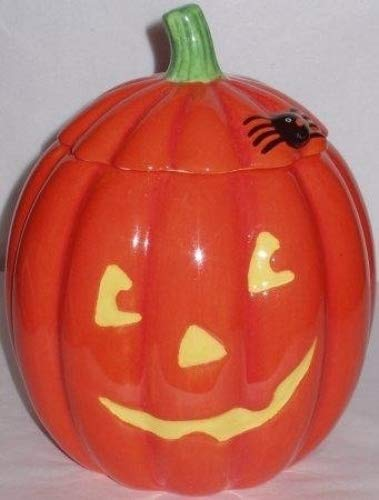 Hallmark Pumpkin Treat/cookie/candy Jar ()