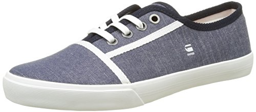 G-Star Raw Women's Kendo Low-Top Sneakers, Blue (Chambray 3735), 4 UK (37 EU) by G-Star Raw