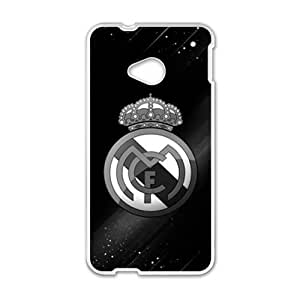 SANLSI Real Madrid Cell Phone Case for HTC One M7