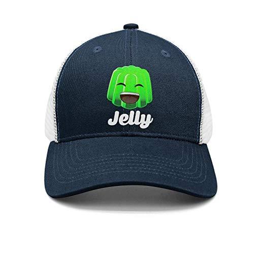 (Ddsadss Jelly-Classic-YT- Trucker Hats for Men Women Sports Caps)