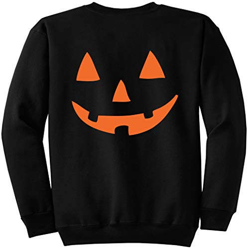 Unicef Halloween Costume (JackoLantern Halloween Pumpkin Costume Sweatshirt Black)