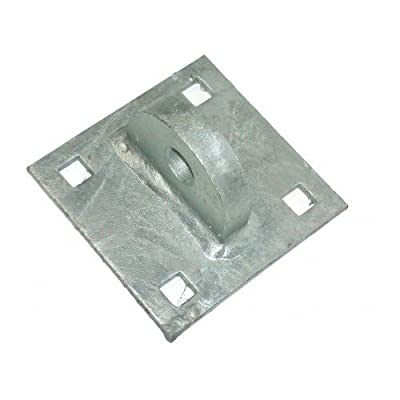 """Dock Hardware T-Male Floating Dock Connector Hinge (DH-TM) - Galvanized 1/4"""""""