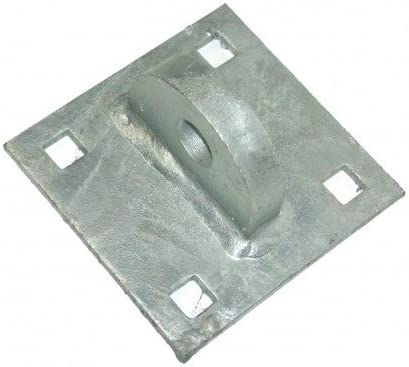 Galvanized 1//4 Dock Hardware T-Male Floating Dock Connector Hinge DH-TM