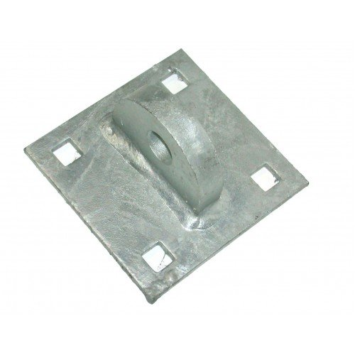 Dock Hardware T-Male Floating Dock Connector Hinge (DH-TM) - Galvanized 1/4