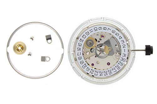 - Genuine ETA 2824-2 Automatic Watch Movement 25 Jewel Date @ 3 Date Swiss Made