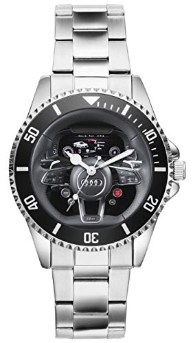 Gift for Audi R8 Driver Fans Kiesenberg Watch 10067 - Mens Driver Watch