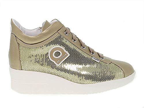 Ruco Line Luxury Fashion Womens RUCO226O Gold Sneakers | Season Outlet