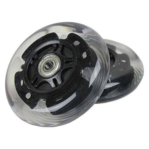 L E D Scooter Wheels With Abec 9 Bearings For Razor