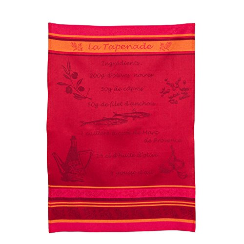 Abbott Collection 50-A5354-ROUG Tea Towel, 20