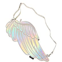 FYDELITY- Angel Wing Bags & Backpacks | Iridescent, Holographic, Magical, CosPlay, Kawaii, Fairy, Mystical