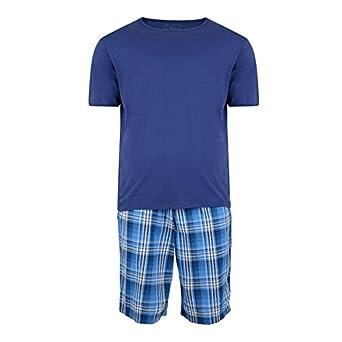 KAM para hombre cama King Size de rayas de la marina-camiseta de ...
