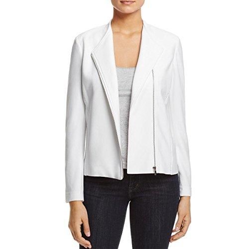 adder Stitch Detail Zipper Jacket White L (Stitch Detail Jacket)