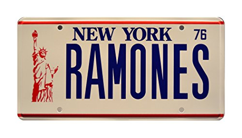 Ramones Punk Rock Band California Aluminum Vanity License Plate