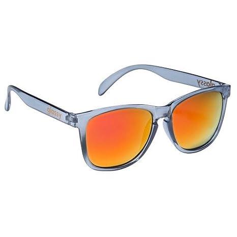 Cristal Sunhaters Deric Gafas de sol gris claro de espejo en ...