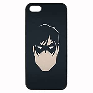 Nightwing Unique Custom Image Case iphone 5 case , iphone 5S case, Diy Durable Hard Case Cover for iPhone 5 5S