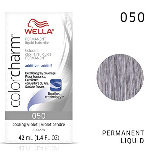 WELLA Color Charm Permanent Liquid Hair, 50 Light Drabber, 1.4 Fl Oz