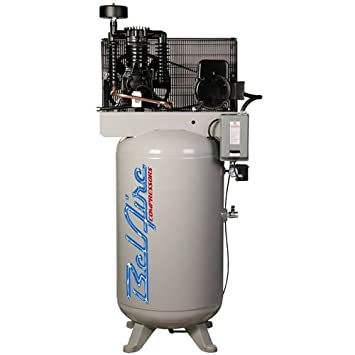 Amazon.com: Bel Aire 7.5 Hp Air Compressor 338VLE Vertical 80 Gal: Home Improvement