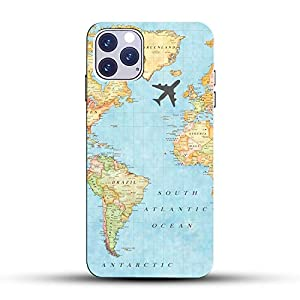 COLORFLOW Travel Texture World MAP Colorful Abstract Design Amazing Look Printed Hard CASE Back Cover Mobile Phone for…