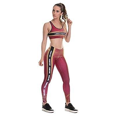 Conjunto Deportivo Mujer 2 Piezas Sujetador + Legging: Ropa y accesorios