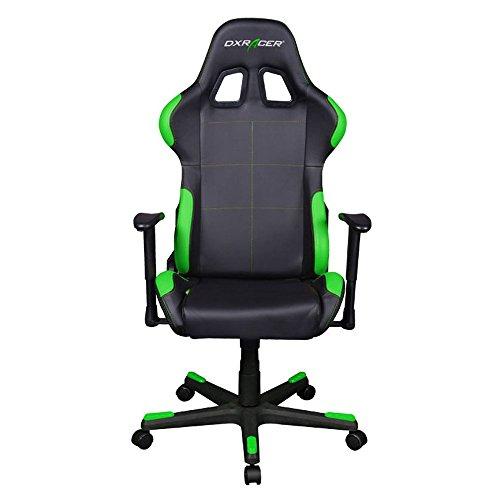 41lhURzws%2BL - DXRacer-Formula-Series-DOHFD99NE-Racing-Bucket-Seat-Office-Chair-Computer-Seat-Gaming-Chair-DXRACER-Ergonomic-Desk-Chair-Rocker-BlackGreen